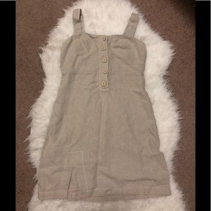 Urban Outfitters Linen Mini Dress